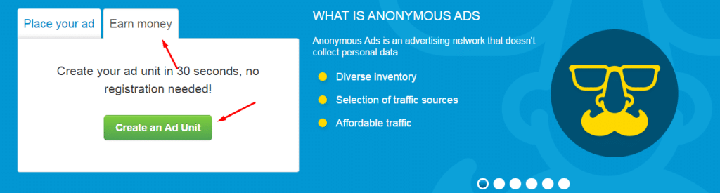 A-ads signup