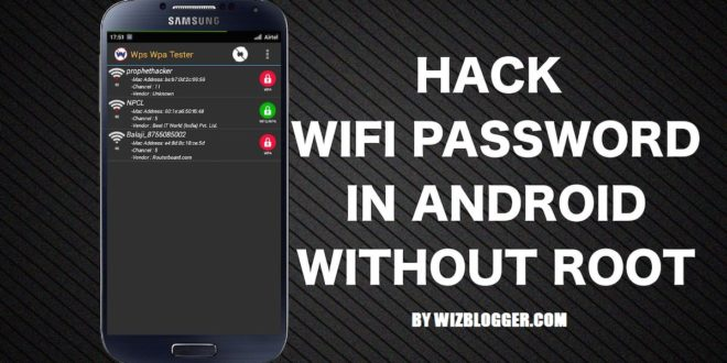 hack wifi non root