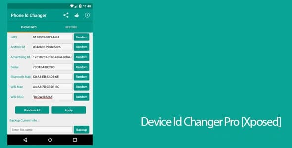 device id changer