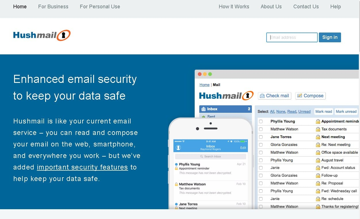 hushmail email encryption - wizblogger