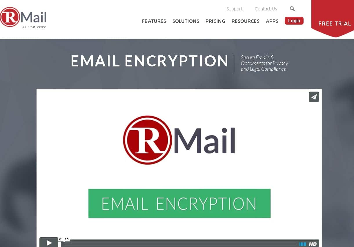 rmail email encryption service - wizblogger